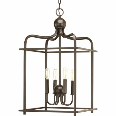 Assembly Hall 4-Light Foyer Pendant Finish: Antique Bronze