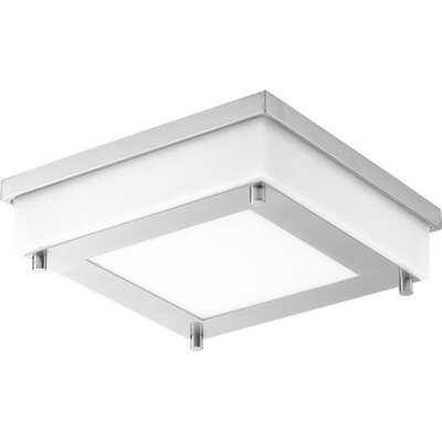 Hankerson 1-Light Flush Mount Finish: Stainless steel