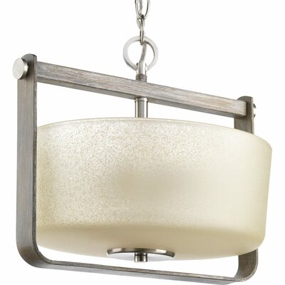 Andrade 2-Light Semi Flush Mount