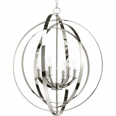 Equinox 6-Light Foyer Pendant
