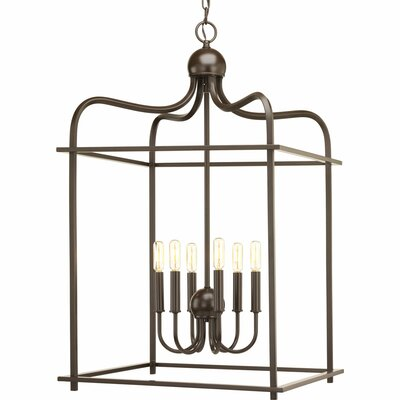 Assembly Hall 6-Light Foyer Pendant Finish: Antique Bronze