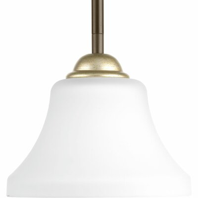 Bourdeau 1-Light Mini Pendant Finish: Antique Bronze