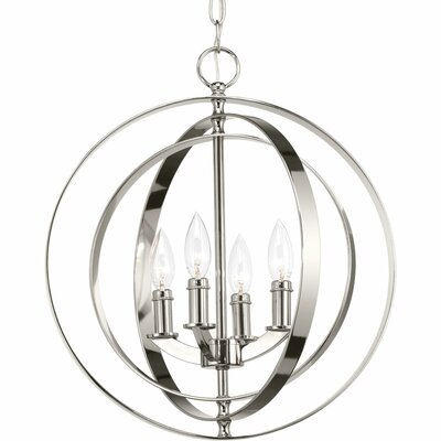 Equinox 4-Light Foyer Pendant