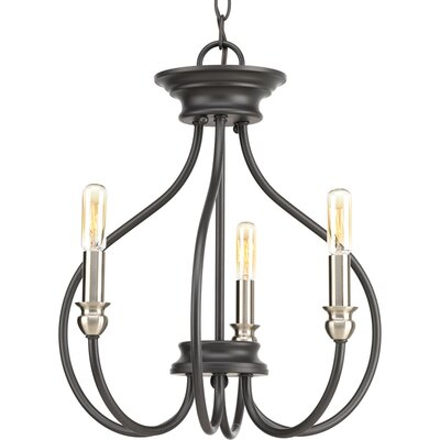 Chaney 3-Light Semi Flush Mount