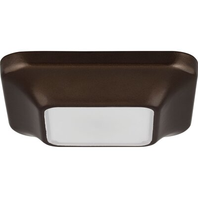 Ayotte 1-Light Flush Mount Finish: Antique Bronze