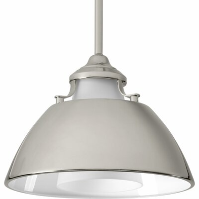 Carbon 1-Light Mini Pendant Finish: Polished Nickel