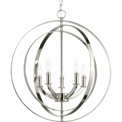 Morganti 5-Light Foyer Pendant