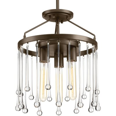 Wiggs 3-Light Cluster Pendant