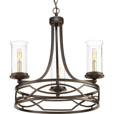 Tomoe 3-Light Candle-Style Chandelier