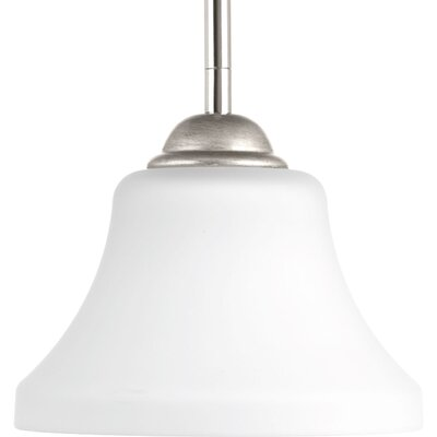 Bourdeau 1-Light Mini Pendant Finish: Polished Nickel