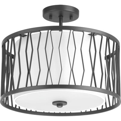 Wemberly 3-Light Semi Flush Mount
