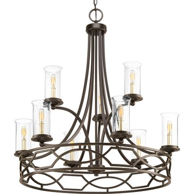 Tomoe 9-Light Candle-Style Chandelier