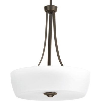 Devi 3-Light Bowl Pendant Finish: Antique Bronze