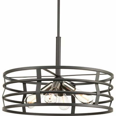 Pattie 4-Light Drum Pendant