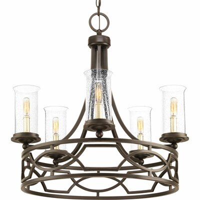 Tomoe 5-Light Candle-Style Chandelier