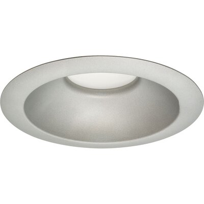 Round 4 Recessed Retrofit Downlight Finish: Brushed Nickel