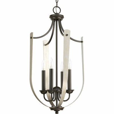 Abid 4-Light Foyer Pendant Finish: Antique Bronze