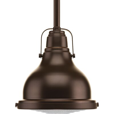 Asa 1-Light Schoolhouse Pendant Finish: Oil Rubbed  Bronze