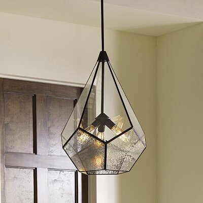 Cinq 3-Light Geometric Pendant