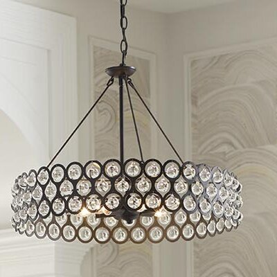Gerena 3-Light Drum pendant