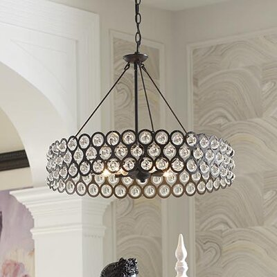 Vestique 6-Light Drum Pendant