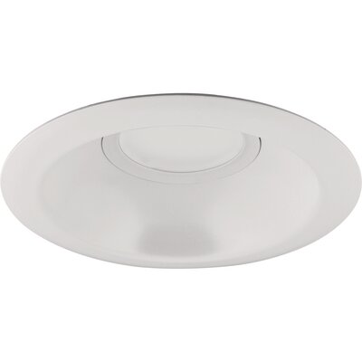 6 LED Recessed Trim Trim Finish: Bright White
