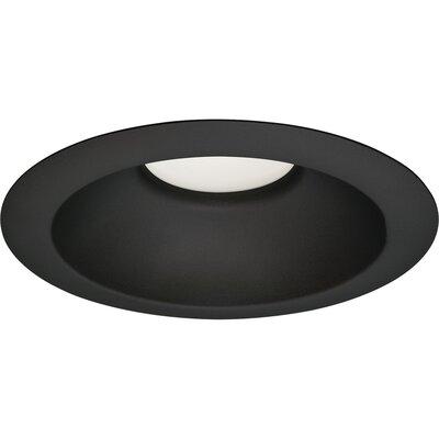 6 LED Recessed Trim Trim Finish: Black