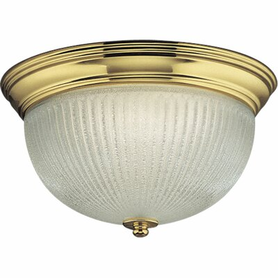 Melon 2-Light Close-To-Ceiling Flush Mount