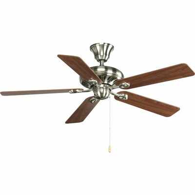 52 Foxburg 5 Blade Ceiling Fan Finish: Cherry