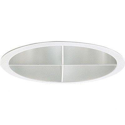 Pro-Optic Shallow Cross Louver 7.25 Recessed Trim