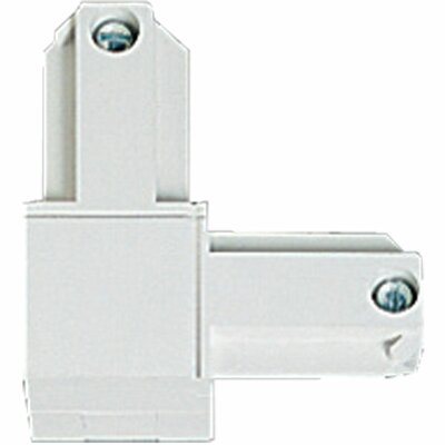 Alpha Trak Inside Polarity L Connector Finish: Bright White