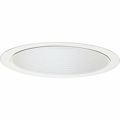 5.75 Recessed Trim Finish: White Baffle
