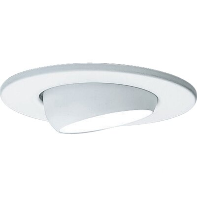 Eyeball 2.7 Recessed Trim Finish: White