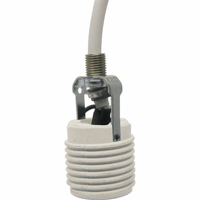 Pendant Cord Extender Finish: White