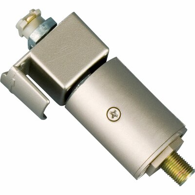 Alpha-Trak Stem-Hung Mini-Pendant Adapter Finish: Brushed Nickel