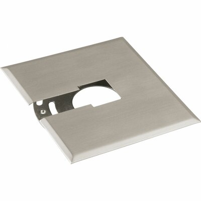 Alpha Trak Canopy Kit - Flush Mount Finish: Brushed Nickel