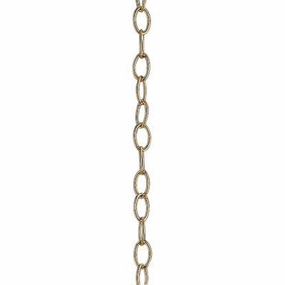 10 of 9 Gauge Chain Finish: Polished Brass