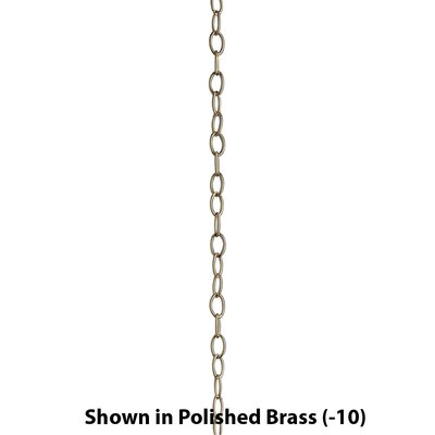 10' of 6 Gauge Chain Finish: Classic Silver