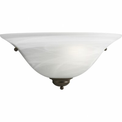 Estela 1-Light Wall Sconce Finish: Antique Bronze, Shade Color: White Glass FDLL5873 42474715