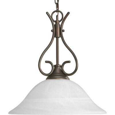 Cates 1-Light Pendant Color: Antique Bronze