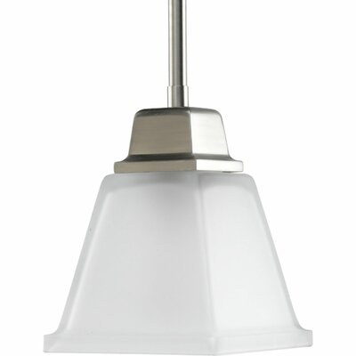 Chickamauga Mini Pendant in Brushed Nickel