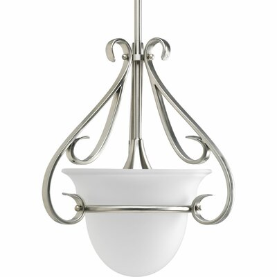 Lilly Contemporary 1-Light Stem-Hang Mini Pendant