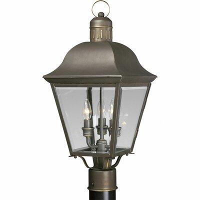 Triplehorn 3-Light Lantern Head in Bronze