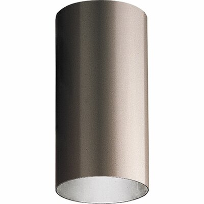 Novack 1-Light Flush Mount Shade Color: Antique Bronze