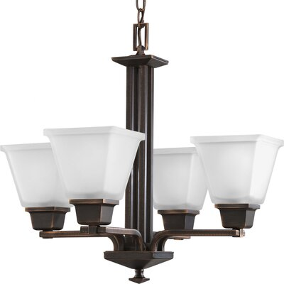 Chickamauga Classic 4-Light Shaded Chandelier