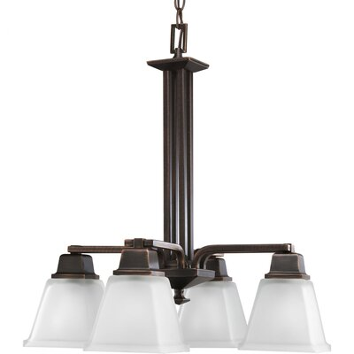 Chickamauga 4-Light Shaded Chandelier