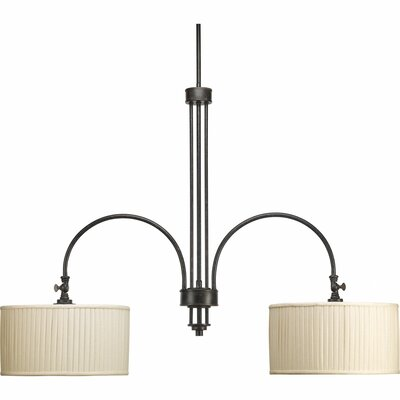 Clayton 2-Light Drum Chandelier