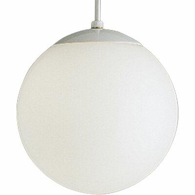 Baran 1-Light Globe Pendant Size: 10 H x 10 W x 10 D