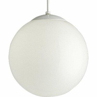 1-Light Globe Pendant Size: 12 H x 12 W x 12 D