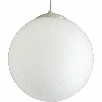Baran 1-Light Globe Pendant Size: 14 H x 14 W x 14 D